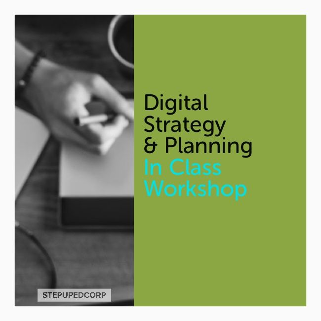 Digital Marketing Strategy & Planning Certificate In Class