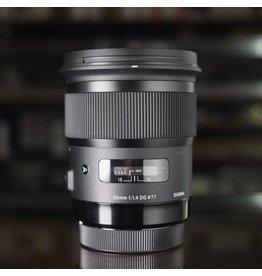 Canon Sigma ART 50mm f1.4.