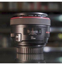 Canon Canon EF 50mm f1.2L USM.