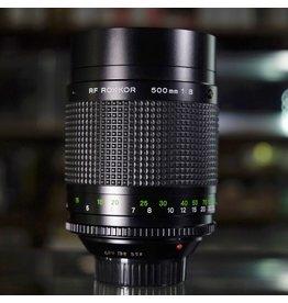 Minolta Minolta MD 500mm f8 RF Rokkor.