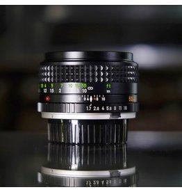 Minolta Minolta MC Rokkor-X PF 50mm f1.7.