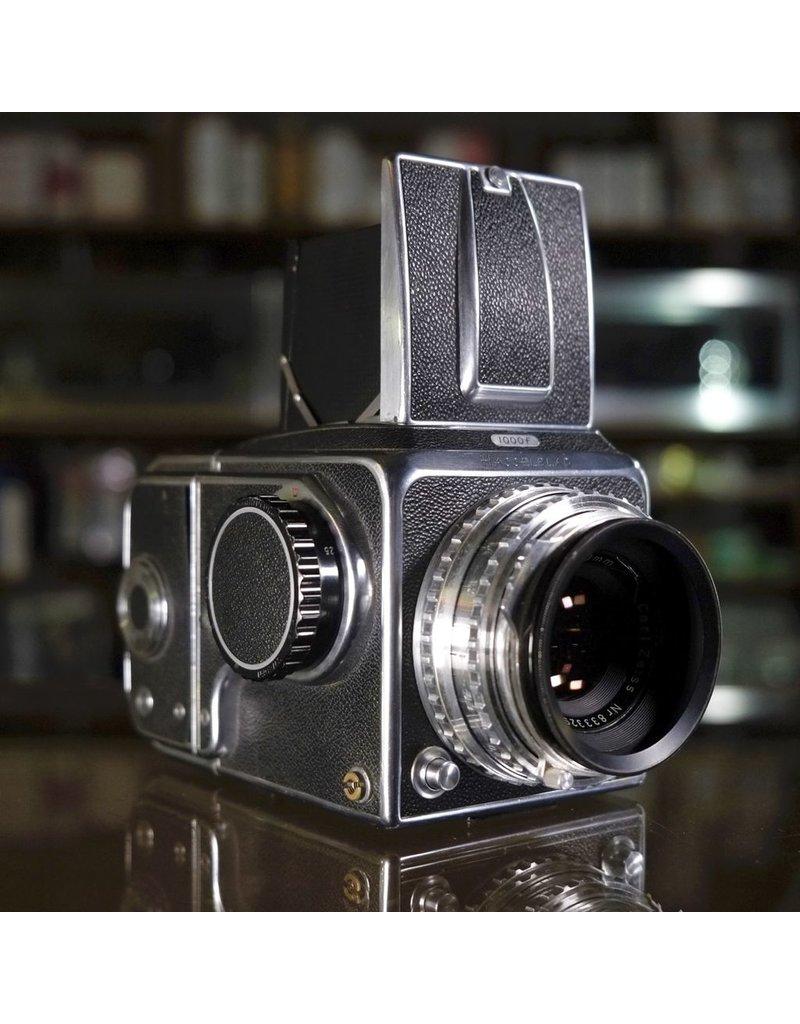 Hasselblad Hasselblad 1000F w/ Carl Zeiss Tessar 80mm f2.8.