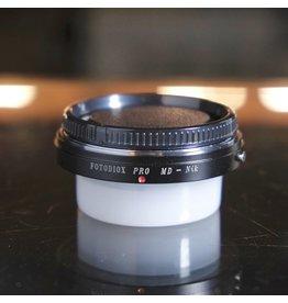 Fotodiox Fotodiox Minolta MD-Nikon F adapter (with correction lens)