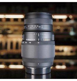 Sigma Sigma 70-300mm f4-5.6 DG Macro.