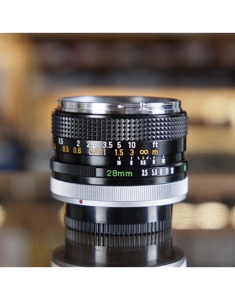 Canon Canon FD 28mm f3.5