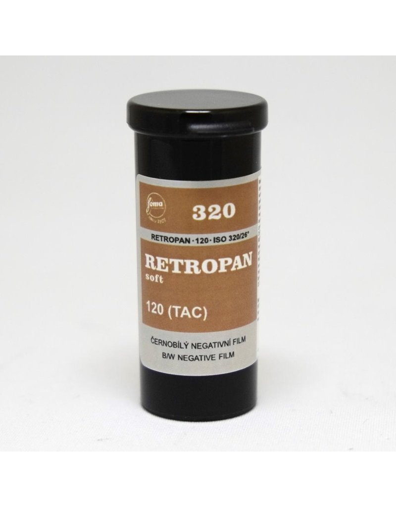 Foma Foma Retropan 320 Soft. 120.