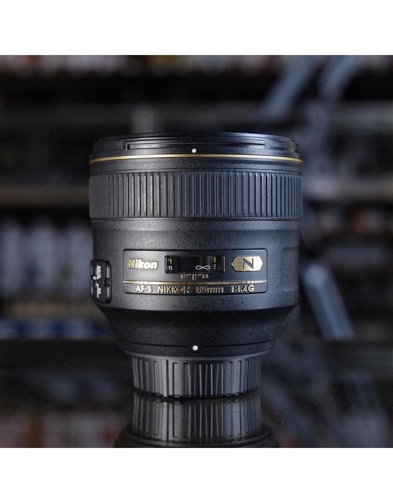 Nikon Nikon 85mm f1.4G AF-S Nikkor.