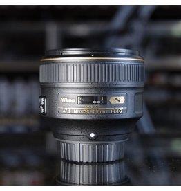 Nikon Nikon 58mm f1.4G AF-S Nikkor.