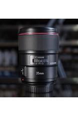 Canon Canon EF 35mm f1.4L II USM.