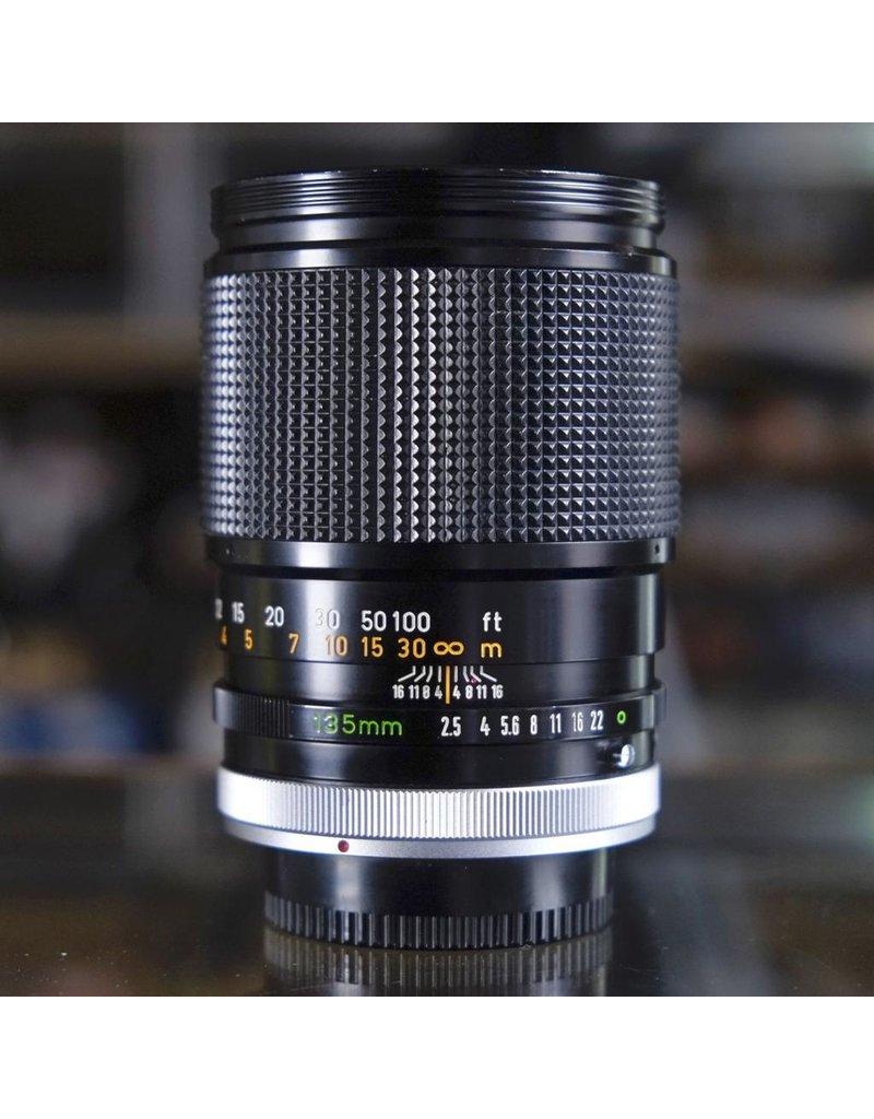 Canon Canon FD 135mm f2.5 S.C.