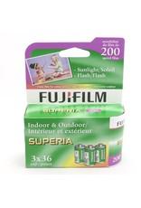 Fujifilm Fujifilm Superia 200 3-pack (135/36)