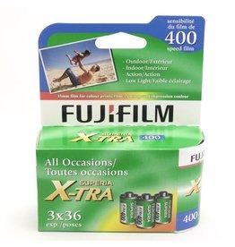 Fujifilm Fujifilm Superia X-Tra 400 3-pack (135/36)