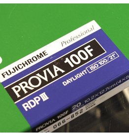 Fujifilm Fujifilm Provia 100F colour transparency film. 4x5.