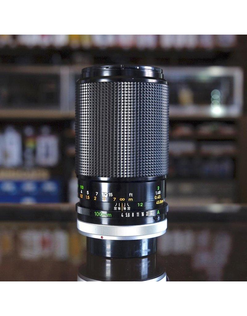 Canon Canon FD 100mm f4 S.C. Macro.