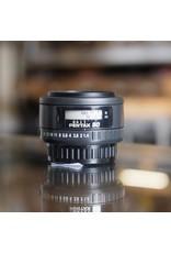 Pentax SMC Pentax-F 50mm f1.4.
