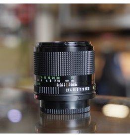 Canon Canon FD 100mm f2.8.