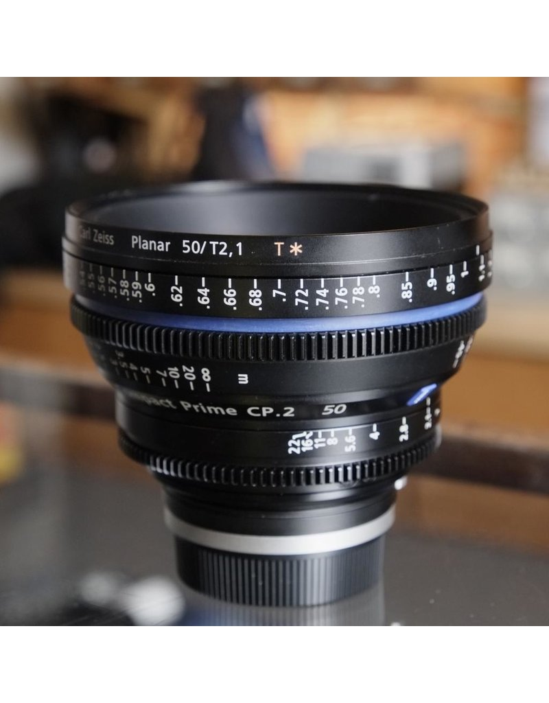 Carl Zeiss Carl Zeiss Planar 50mm T2.1 CP.2