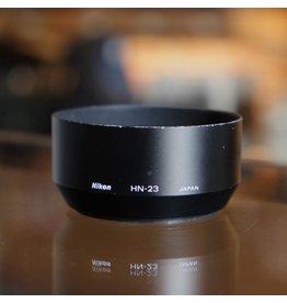 Nikon Nikon HN-23 lens hood for 85mm f1.8 AF Nikkor.