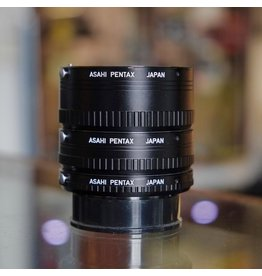 Pentax Asahi Pentax K extension tubes (set of three)