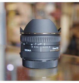 Sigma Sigma 15mm f2.8 EX DG Fisheye.
