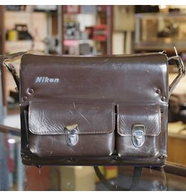 Nikon Nikon leather camera case.