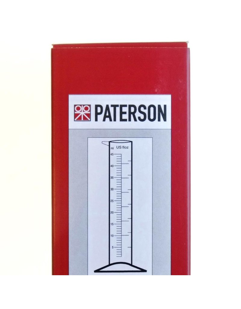 Paterson Paterson 45ml/1.5oz graduated cylinder.