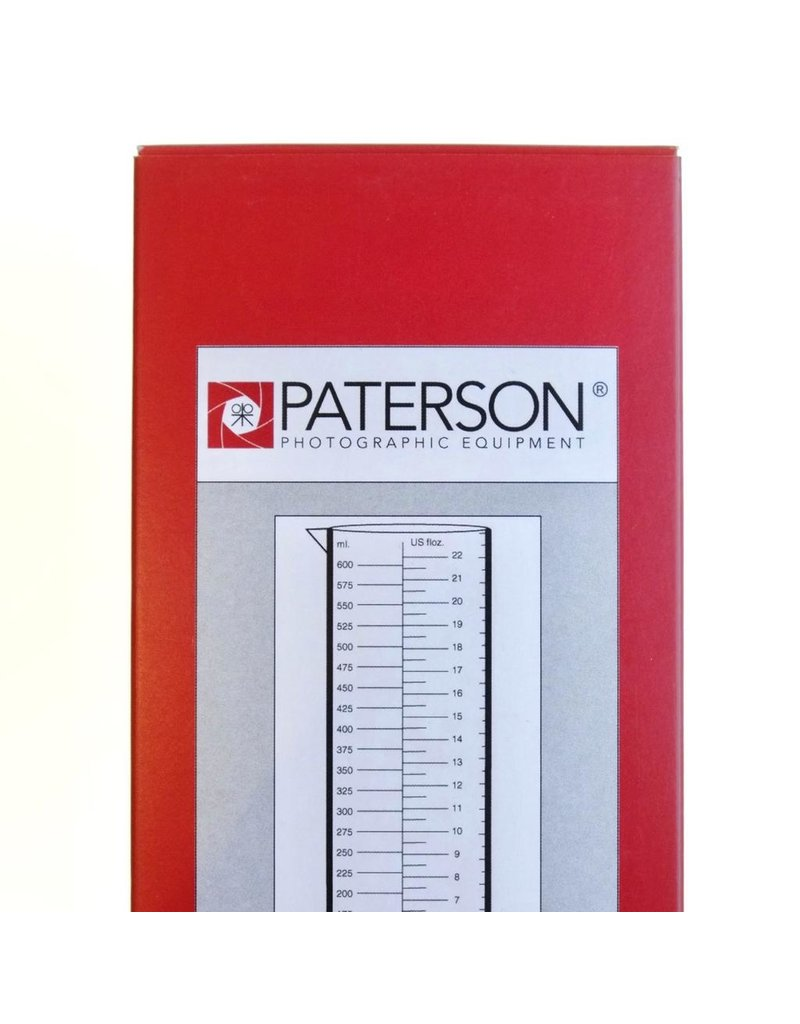 Paterson Paterson 600ml/22oz graduated cylinder.