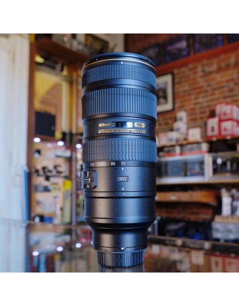 Nikon Nikon 70-200mm f2.8GII ED AF-S VR Nikkor.