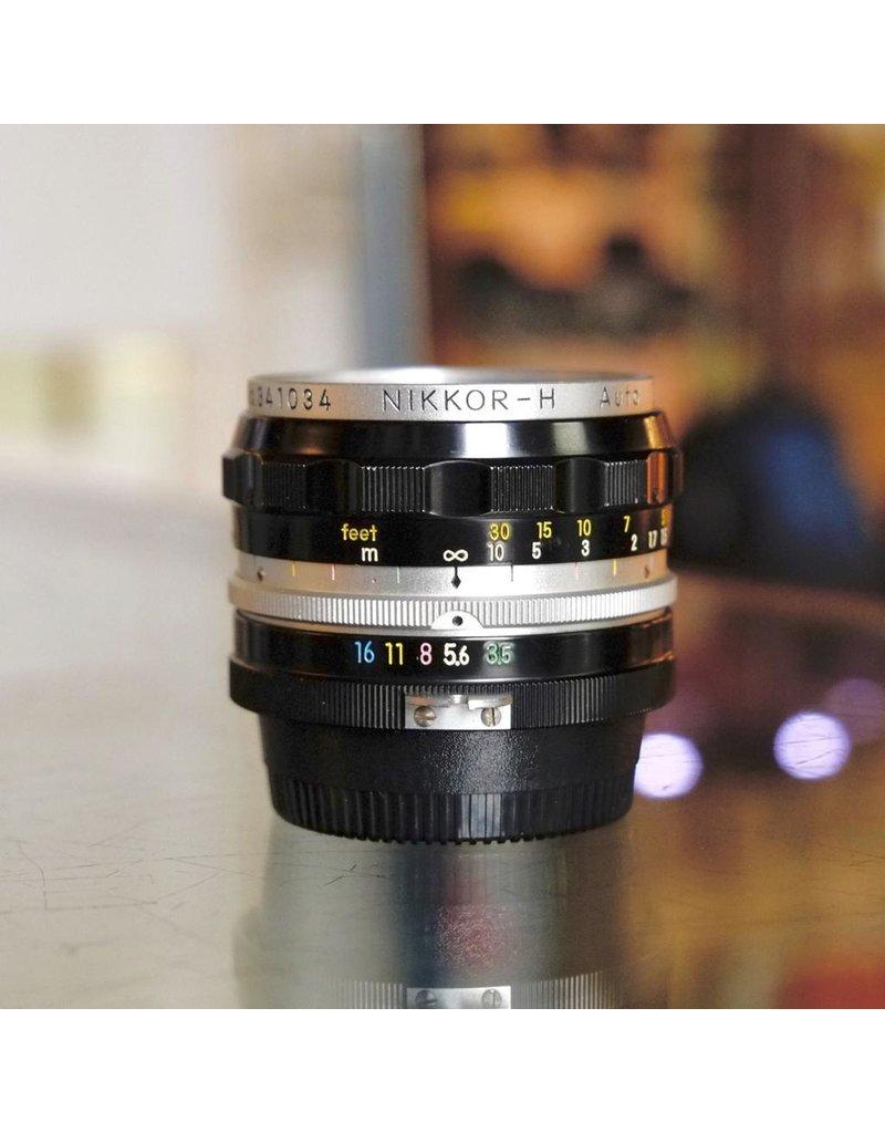 Nikon Nippon Kogaku 2.8cm f3.5 Nikkor-H.