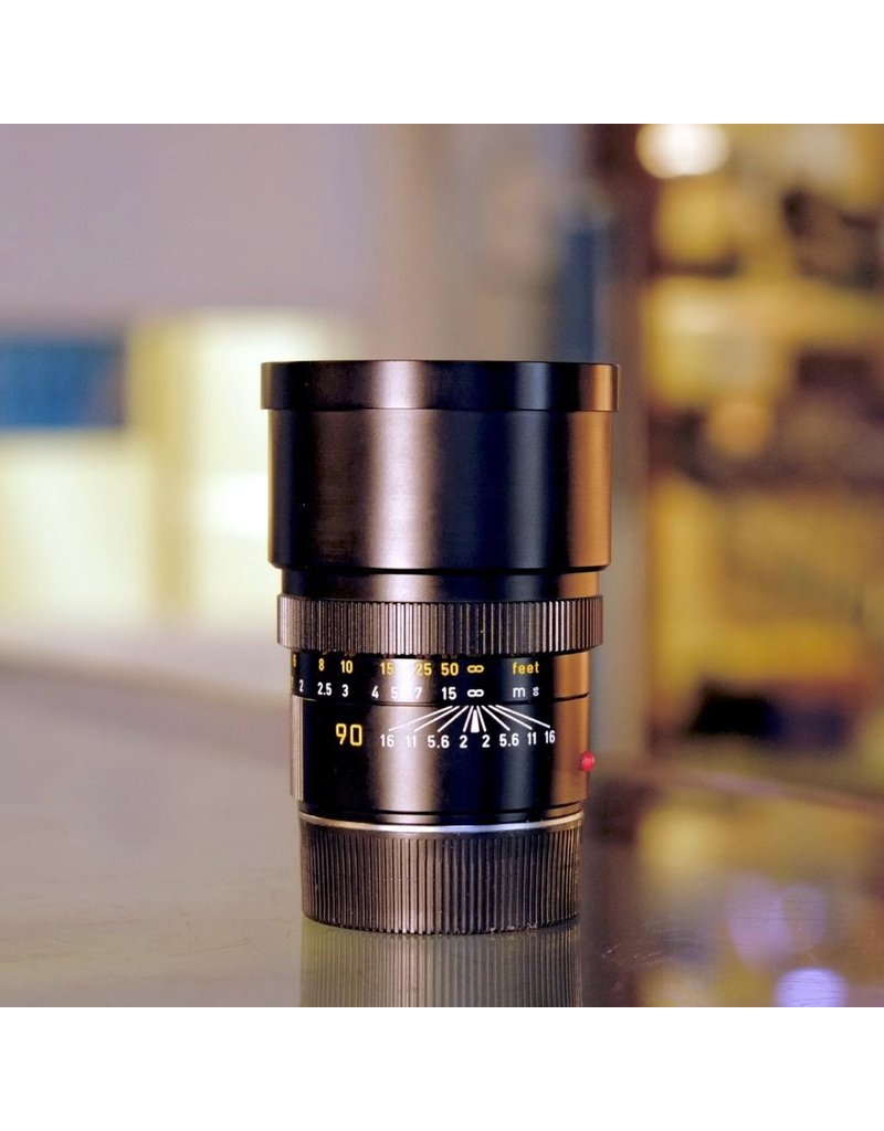 Leica Leitz Canada 90mm f2 Summicron-M.