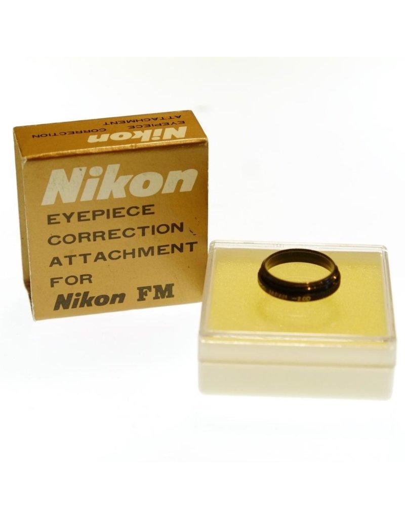 Nikon Nikon FM-type threaded eyepiece diopter, -2.