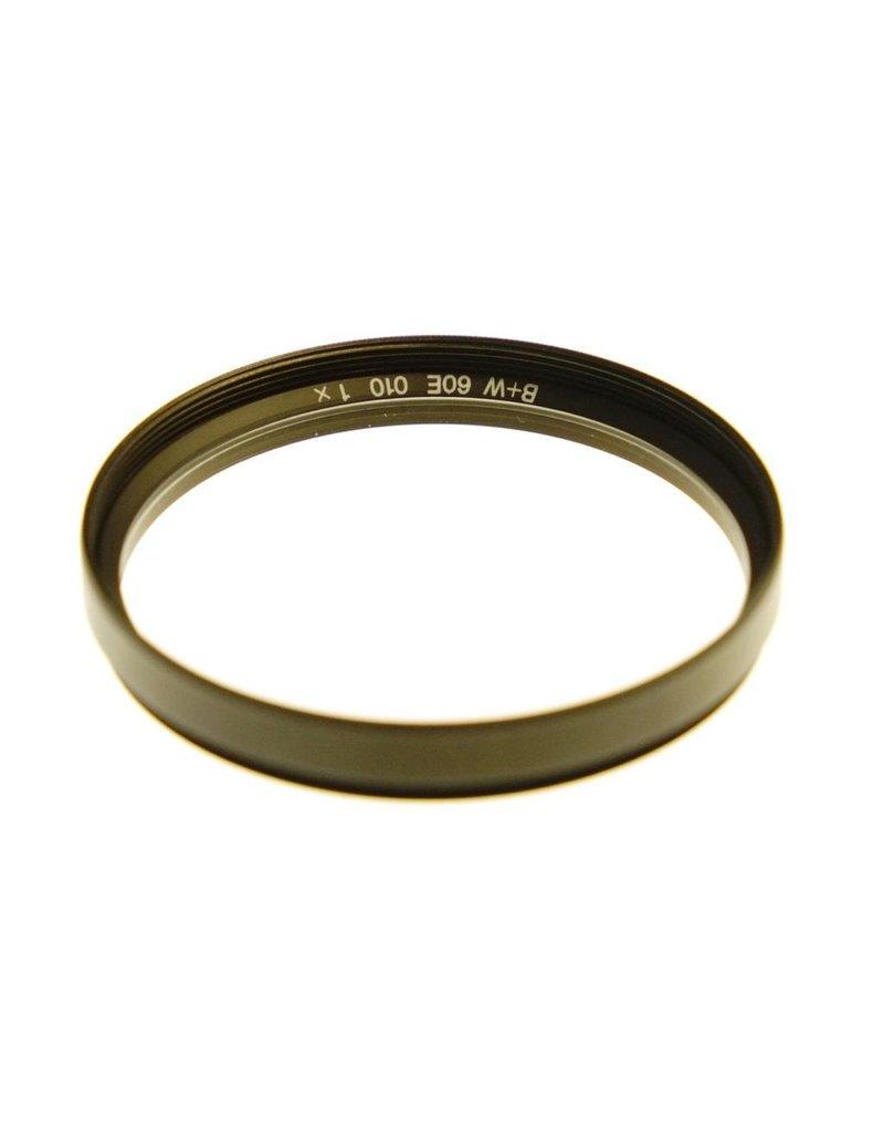 B+W B&W E60 010 (UV) filter.