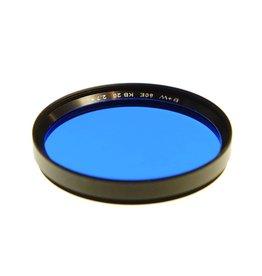 B+W B&W E60 KB20 (Blue) filter.