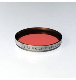Leica Leitz HOOGO orange filter.