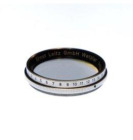 Leica Leitz XQIOO polarizing filter.