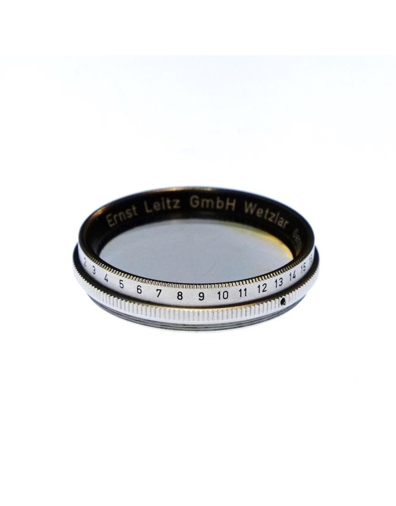Leica Leitz XQIOO polarizing filter.