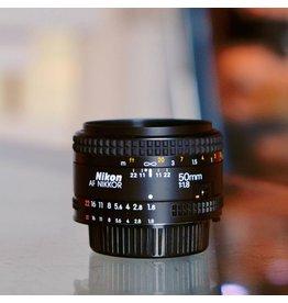 Nikon Nikon 50mm f1.8 AF Nikkor.