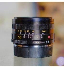 Leica Leitz Canada 50mm f2 Summicron-R (3-cam)