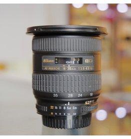Nikon Nikon 18-35mm f3.5-4.5D ED AF Nikkor.