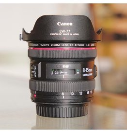 Canon Canon EF Fisheye Zoom Lens 8-15mm f4L.