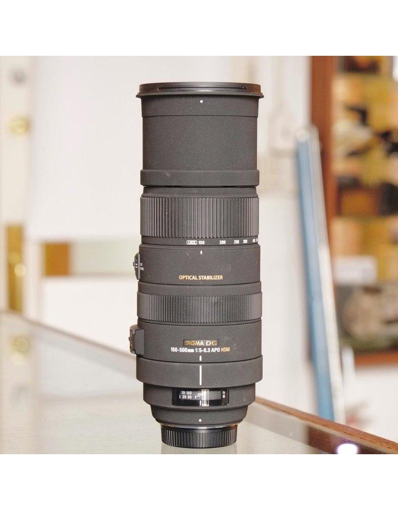 Sigma Sigma 150-500mm f5-6.3 APO DG OS (Nikon F)