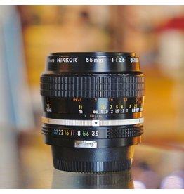 Nikon Nikon 55mm f3.5 Micro-Nikkor (pre-AI)