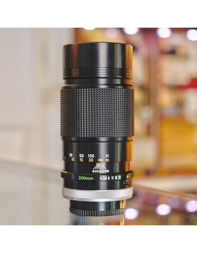 Canon Canon FD 200mm f4 S.S.C.