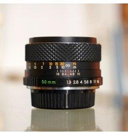 Yashica Yashica DSB 50mm f1.9 lens.
