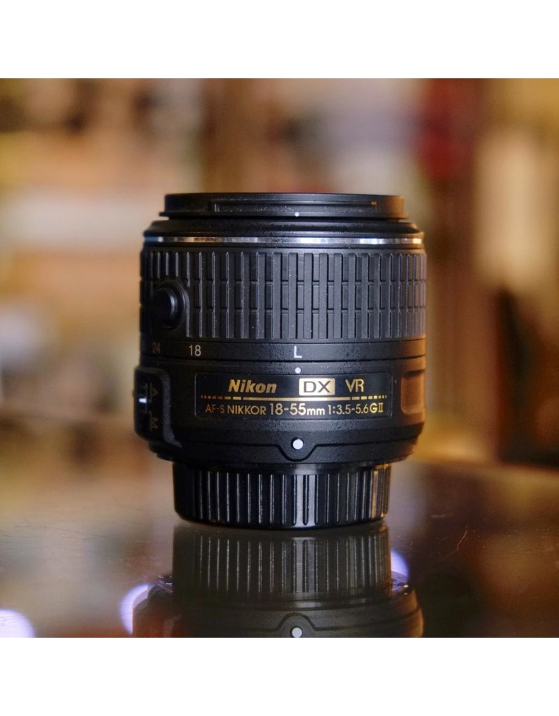 Nikon Nikon 18-55mm f3.5-5.6GII ED EX AF-S VR Nikkor.
