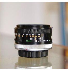 Canon Canon FD 50mm f1.8.
