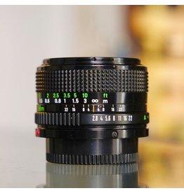 Canon Canon FD 28mm f2.8.
