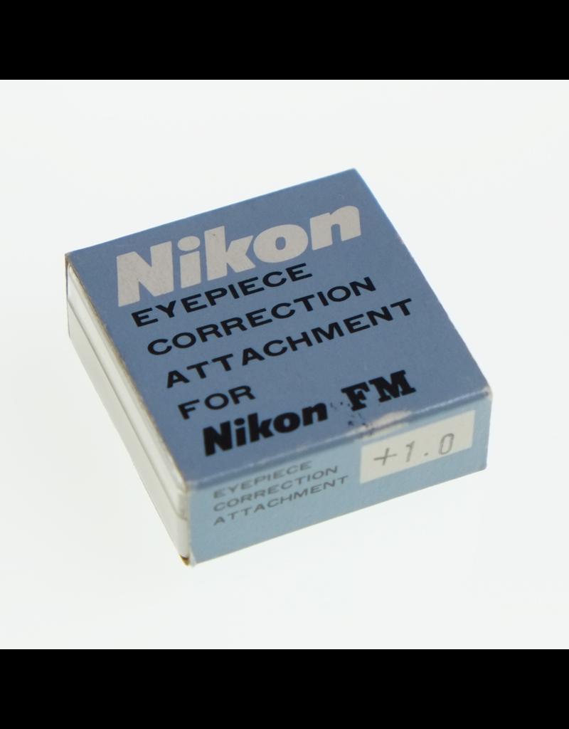 Nikon Nikon FM-type threaded eyepiece diopter, +1.
