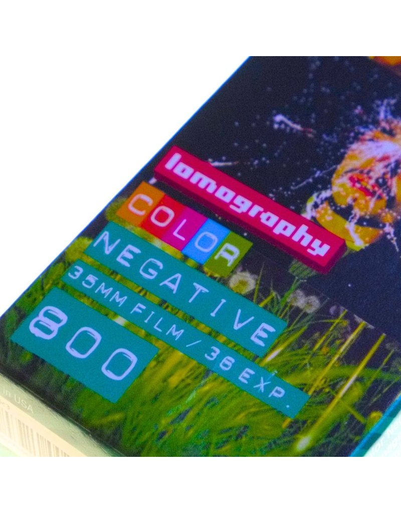 Lomography Lomography ISO 800 Colour Negative film 3-pack (135/36)