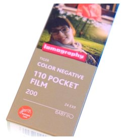 "Lomography Lomography ISO 200 ""Tiger"" Colour Negative film (110)"